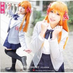 Cosgirl - Gekkan Shoujo Nozaki Kun Sakura Chiyo Cosplay Costume