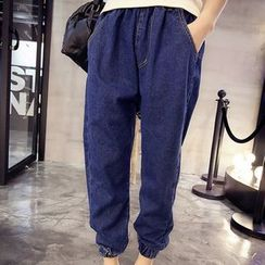 Iscat - Cropped Baggy Jeans