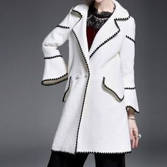 Alaroo - Double-Breasted Bell-Sleeve Coat