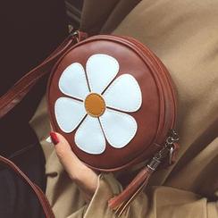BAGuette - Floral Round Shoulder Bag