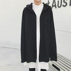 Mr. Wu - Hooded Oversized Jacket
