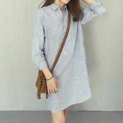 Harmonia - 细条纹衬衫连衣裙