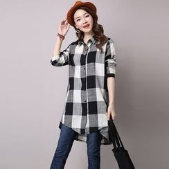 Supernova - Plaid Long Shirt