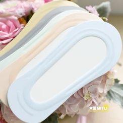 MITU - 硅膠絲棉淺口隱形船襪
