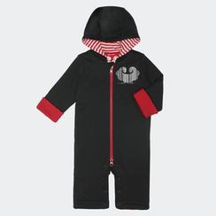 malimarihome - Baby Hooded Zip One-Piece