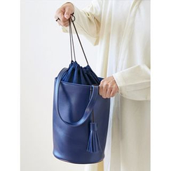 FROMBEGINNING - Cylinder Shoulder Bag