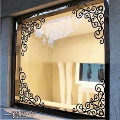 StickIt - Filigree Window Sticker