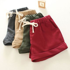 Mushi - Cuffed Shorts