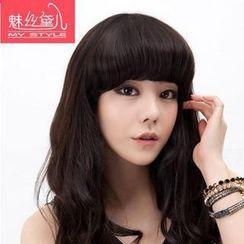 魅絲黛兒 - 劉海髮片 - 鬈髮