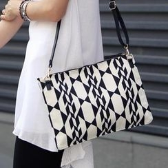 REDOPIN - Patterned Cotton Clutch