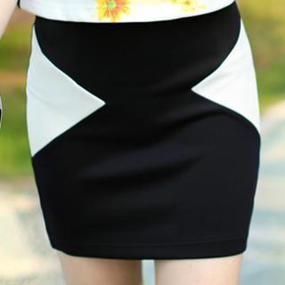 Dabuwawa - Panel Miniskirt