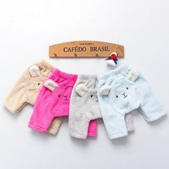 MOM Kiss - Baby Animal Fleece Pants