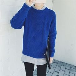Simsam - Cable Knit Sweater