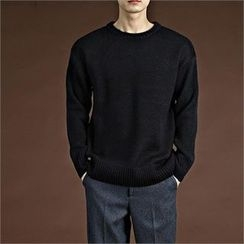 THE COVER - Round-Neck Sweater