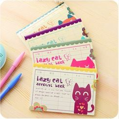 Homy Bazaar - Cat Print Account Book (S)