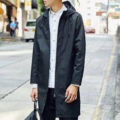 Maykor Jane - Longline Hooded Jacket