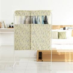 iswas - Patterned Clothes Rail Cover