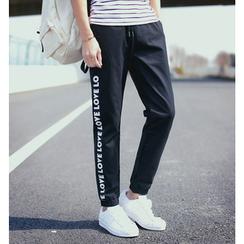 Fisen - Lettering Sweatpants