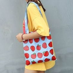 Youme - Printed Canvas Tote Bag
