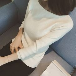 Bloombloom - Plain Knit pullover