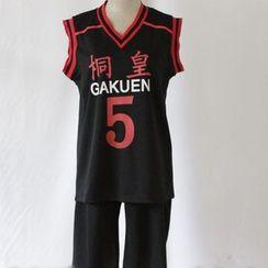 Comic Closet - Kuroko's Basketball Aomine Daiki Cosplay Costume