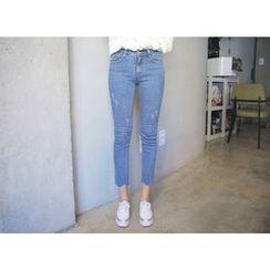 Envy Look - Slim-Fit Cropped Jeans