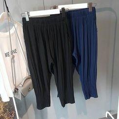 芷蓯夕 - 打褶哈倫褲