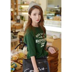 DEEPNY - 印花中袖T恤