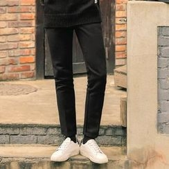 MEOSIDDA - Pocket-Side Tapered Pants