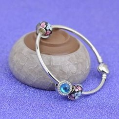 PEIDUOLA - Rhinestone Charm Bangle