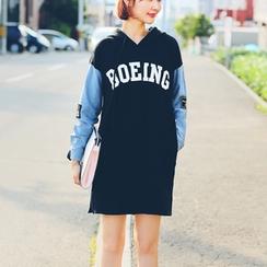 Jolly Club - Long-Sleeve Printed Dress