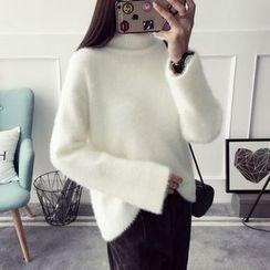 Qimi - Turtleneck Sweater