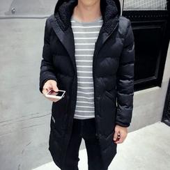 Besto - Hooded Long Padded Coat