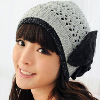 59 Seconds - Bow-Accent Beanie