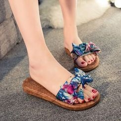 Sunsteps - Bow Slide Sandals