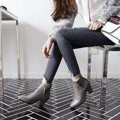 傾城 - 尖頭踝靴