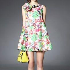 Alaroo - Printed Linen Sleeveless Dress
