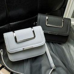 Clair Fashion - Faux-Leather Handbag