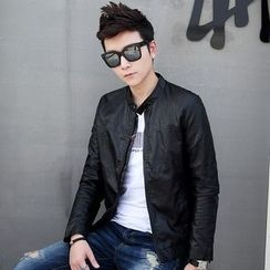 Golden Apple - Faux-Leather Jacket