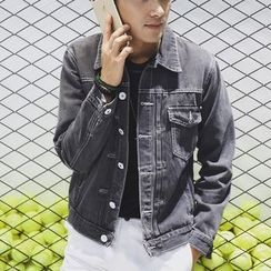 Keerme - Buttoned Denim Jacket