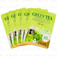 eKeL - Green Tea Hltra Hydrating Essence Mask
