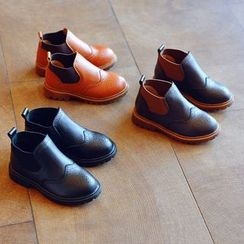 BOOM Kids - Kids Wingtip Ankle Boots