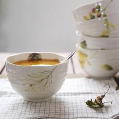 Kawa Simaya - Leaf Print Bowl