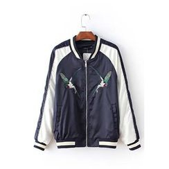 Ainvyi - Embroidered Baseball Jacket