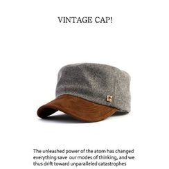 Ohkkage - Color-Block Military Cap