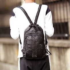 BagBuzz - Cross Studded Backpack