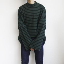 MPstudios - Long-Sleeve Striped T-Shirt