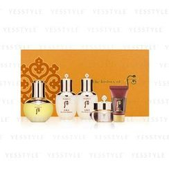 The History of Whoo - Wild Ginseng Ampule Oil Special Set: Balancer 25ml + Lotion 25ml + Mask 30ml + Cream 10ml + Oil 30ml