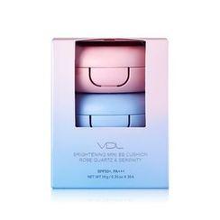 VDL - Brightening Mini BB Cushion Set: Pink 10g x 2pcs + Blue 10g x 1pc