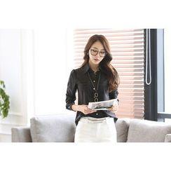KOKA - Long-Sleeve Chiffon Shirt